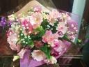 【発表会・歓送迎会・お誕生日】ガーベラの花束