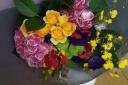 カラフルな花束 A