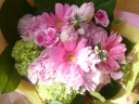 花束ピンク011