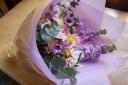 花束パープル101
