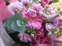 花束ピンク013