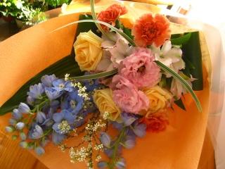 フェミニン♪花束