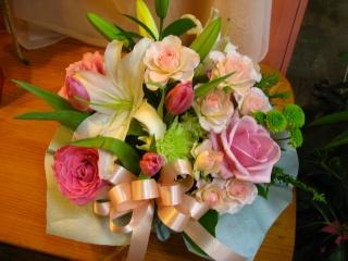 ピンクのやさしいプレゼント♪