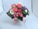 ピンクのバラのお届け物♪