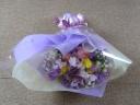 [配達OK]紫を基調とした御祝の花束