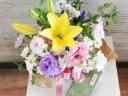 【お供え】香り高いお線香「花みずき」とお花のセット