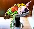 【おうちdeアレンジ】大きなお花の花束