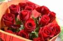 花束【赤バラの花束】
