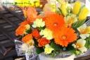 母の日の贈り物☆オレンジ系のアレンジ Memoly