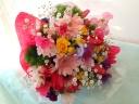 カワイイがいっぱい詰まっている花束