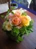 Round Arrangement (Orange