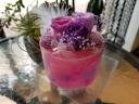 LED花キャンドル ピンクパープル