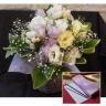日本香堂■香りのお線香とお花のセット■ラベンダー