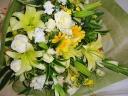 イエロ-系の花束