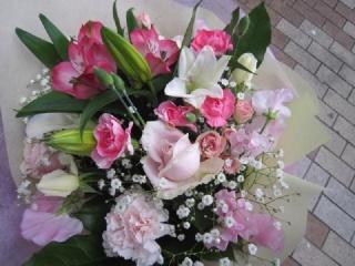お勧め花束、*花