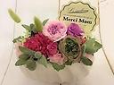 可愛いピンク!!母の日に贈るプリザーブドフラワー