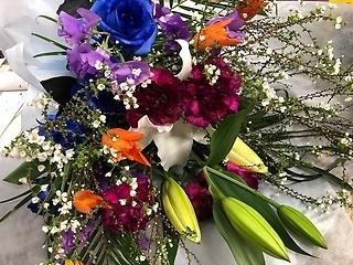 3月は何かと花束の活躍する季節です