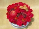 BIRTHDAYフラワーケーキ「アップルケーキ」