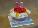 BIRTHDAYフラワーケーキ「オレンジケーキ」