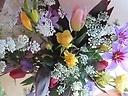 季節の春の花の花束3500