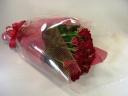 真紅薔薇の花束