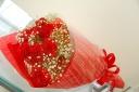 【母の日】赤いカーネーションの花束