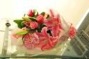 【母の日】ユリとカーネーションの花束