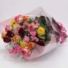贅沢バラ色々ミックス花束