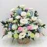 お供えのお花:優しい色合い