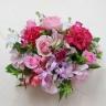 バラと蘭のアレンジメント