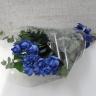 青いバラの花束<ブルーローズ>
