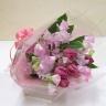 チューリップとスイートピーの可愛い花束