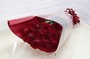 愛の告白 ダーズンローズ 赤バラの花束