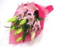 ☆★☆ピンクユリの上品で優しい花束☆★☆