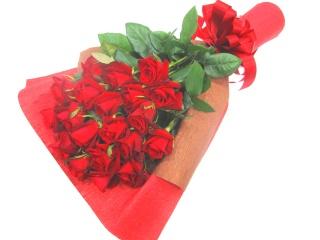 【厳選】赤いバラ20本の花束
