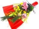 《迎春》大人気!!【お正月の華やかな花束】