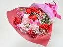 【母の日】カーネーションとかすみ草の花束