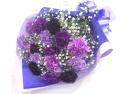 【母の日】ムーンダストとかすみ草の豪華な花束