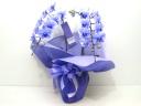 紫色の胡蝶蘭《パープルアマビリスエレガンス/2本立