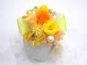 【母の日プリザーブド】和風なあかあさんへ…【黄橙】