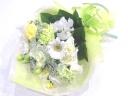 【供花】バラ入り白系主体の淡い色を入れた上品な花束
