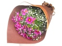 【敬老の日】コスモスとかすみ草の花束