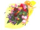【敬老の日】秋の明るい花束