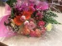 カラフルボリューム花束