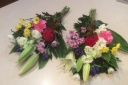 一対のお供え花束