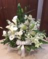 白あがり 洋花お供えアレンジメント