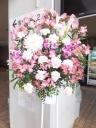 劇場などに飾る生花スタンド