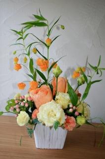 オレンジサンダーソニアアレンジ