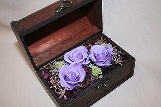 宝箱BOX バイオレット