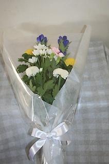 お墓への御供花